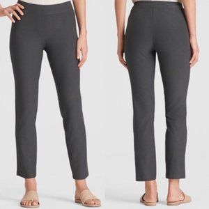 Eileen Fisher Gray Crepe Slim Ankle Pants XS